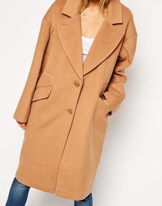 ASOS   ASOS Cocoon Coat at ASOS