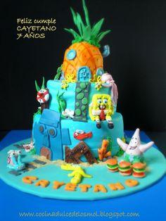 Bob sponja cake