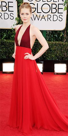 Red Carpet Arrivals - Amy Adams from #InStyle