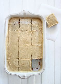 Confections from the Cody Kitchen: Banana Bread Brownies with Brown Butter Frosting