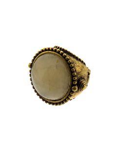 Nimli Antiqued Ring