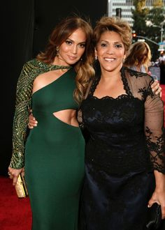 Jennifer Lopez and mother, Guadalupe.