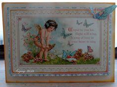 Graphic 45 Valentine ( 52 weeks/52Cards) Week 5
