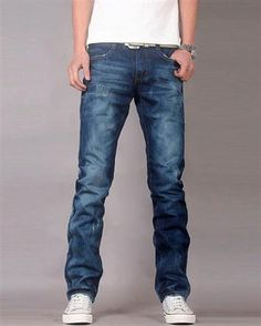 Classic Style Zippered jeans