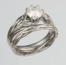 Image result for tree wedding ring