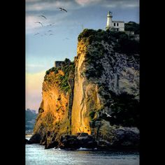 Capo Miseno #lighthouse - #Italy (photo: Vittorio Pandolfi) http://dennisharper.lnf.com/