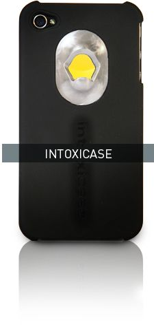 Intoxicase - a case for your iphone that also opens bottles. there is also an app to track # of bottles opened. hilarious!