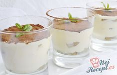 Tiramisu Dessert, Tiramisu Original, Panna Cotta, Sweet Treats, Food And Drink, Pudding, Cookies, Baking, The Originals