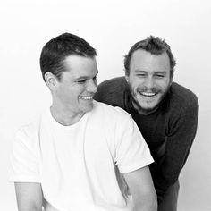 Heath Ledger & Matt Damon