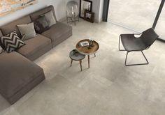 Home inspiration. Beige, keramische tegel. 1 look voor binnen en buiten. Warme look. Moderne vloer. Trends in keramiek en tegels.  www.artstone.be  living room, house, cosy , style.