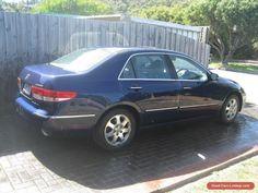 2004 HONDA ACCORD V6 LUXURY SEDAN AUTO BLUE #honda #accord #forsale #australia