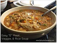 THM Easy E Soup Recipe
