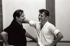 Philippe Pache, photographe - Maurice Béjart et Mikhail Baryshnikov, Lausanne 1997