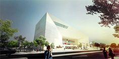 MECA - Maison de l'economie Creative et de la Culture en Aquitaine - Bordeaux, Франция - 2012 - BIG - Bjarke Ingels Group
