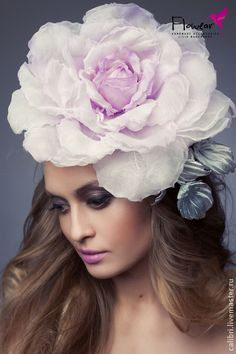 "Роза ""AMETISTA"". Цветы из шелка.. Handmade."