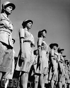 Women's Air Corps - paving the way. Thank you ladies.