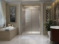 Signature Series Frameless Sliding Shower Doors
