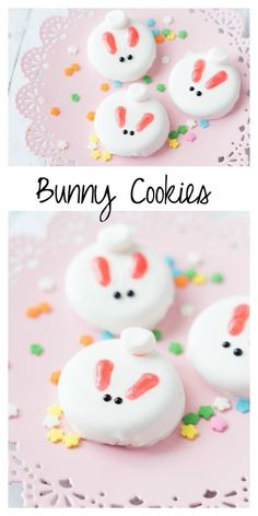 Bunny Cookies: a perfect treat for Easter or a spring time party!