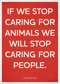 my generation treats animals poorly and don't even realize it.