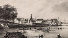 Fort Zeelandia anno 1839 - bron: Geheugenvannederland