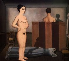 The Screen  - Paul Delvaux