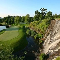 This golf course in New York is a must play. It's called the Trump National Golf Club Westchester. Famous Golf Courses, Play Golf, Golf Clubs, Around The Worlds, York, Instagram, Vacations, Green, Holidays