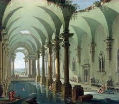 Antonio Joli - Architectural Fantasy.