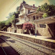 Eski tren istasyonu Göztepe Istanbul