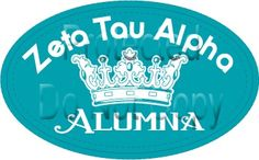 Show your Zeta pride!  The Collin County Alumnae Chapter of ZTA is excited to offer a beautiful and stylish Zeta Tau Alpha Alumna car decal as our fundraiser.  Proceeds will fund a scholarship to be awarded through ZTA Foundation.  Click the link to download an order form.