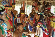 Sjamanistisch ritueel onder inheemsen (indianen) - Suriname, fot van  Vakantie Arena