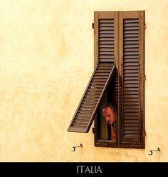 A curious Italian man in San Gimignano Italian People, Italian Men, Vintage Italian, Stairs, Grandparents, Italy, Vacation, Grandmothers