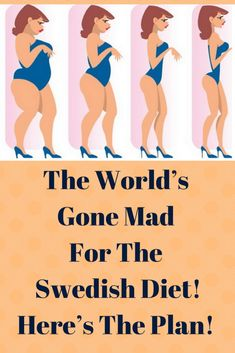 The Famous Swedish Diet Plan! Everyone Who Tried It Claim That It's a Body Changer!
