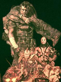 Ohrai Noriyoshi, Mad Max 2. マッドマックス2、生頼範義