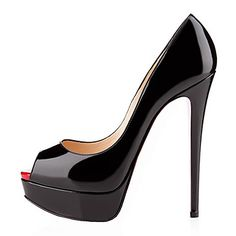 women's sexy high heels Peep Toe Pumps Party Shoes