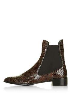 **BELVOIR Textured Chelsea Boots By Unique