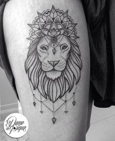 Image result for mandala lion