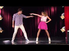 Violetta 2 - Vilu y León bailan juntos - YouTube
