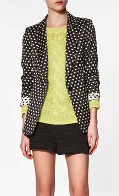 <3 the reversible blazer with the green