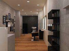 Hair salon, Pagkrati, Athens on Behance