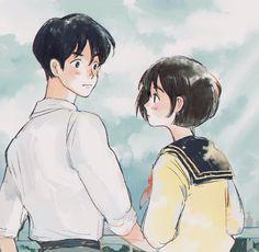 Studio Ghibli Art, Studio Ghibli Movies, Totoro, Aesthetic Art, Aesthetic Anime, Anime Studio, Personajes Studio Ghibli, Cute Anime Couples, Animes Wallpapers