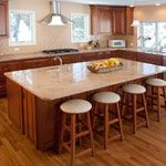 Vyara Gold Granite in Kitchen Another View