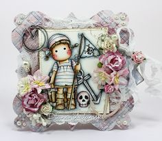 DeeDee's Magnolia Art: ♥ A pirate card ♥