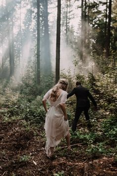 Location and the way the couple are exploring. The photo isn't rehearsed and I like that.