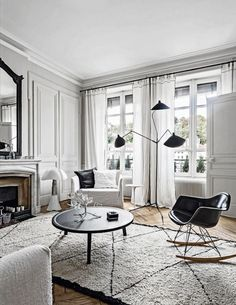 Eames Molded Rocking Chair Serge Mouille Lighting Collection