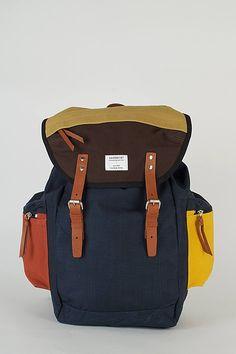 sandqvist multicolour lars-goran hiking backpack.