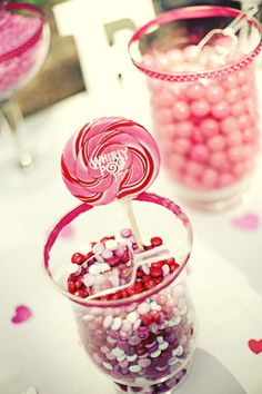 M & M's, Bubble gum, Swirly Pop  #wedding #candy and #candywarehouse