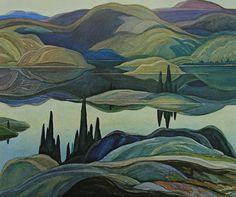 Mirror Lake, 1930 - Franklin Carmichael