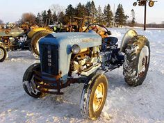 Ford 2000 tractor salvaged for used parts. This unit is available at All States Ag Parts in Black Creek, WI. Call 877-530-2010 parts. Unit ID#: EQ-25438. The photo depicts the equipment in the condition it arrived at our salvage yard. Parts shown may or may not still be available. http://www.TractorPartsASAP.com