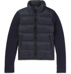 8c931375723a Prada - Wool and Quilted Shell Down Jacket Manteaux De Marque Pour Hommes,  Vêtements De