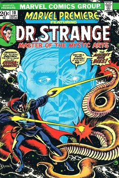 Marvel Premiere # 10 by Frank Brunner